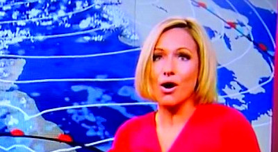 BBC weather's Rachel Mackley passes out on live TV | Daily ...