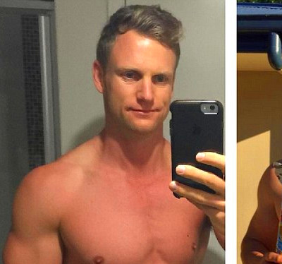 Sharny and Julius Kieser gain weight to prove that their FitMum and FitDad programs work | Daily ...