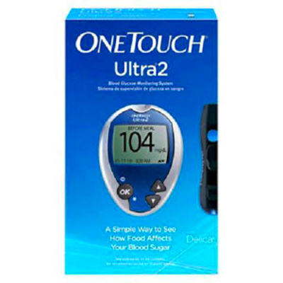 One Touch Ultra Glucose Meter Includes Free One Touch | Share The ...