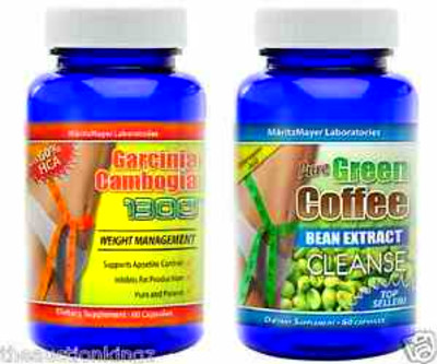 Pure-Green-Coffee-Bean-Extract-Cleanse-Pure-Garcinia-Cambogia-60-HCA ...