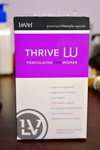 Le-Vel Thrive Women Vitamins 30-Day Supply - 60 Capsules ...
