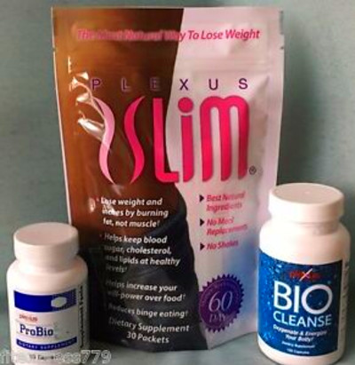 ... -Slim-30-Day-Supply-TRIPLEX-Weight-Loss-Combo-w-ProBio5-BioCleanse