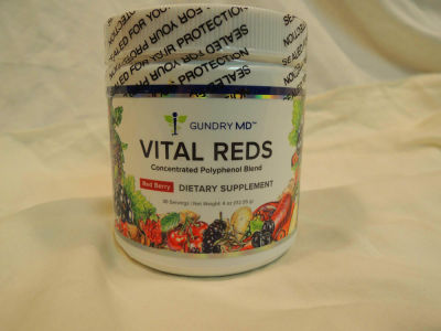 Gundry MD Vital Reds Concentrated 34 Polyphenol Blend 4oz ...