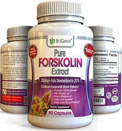 Forskolin 100% Pure Extract 250mg *Maximum Strength Belly ...