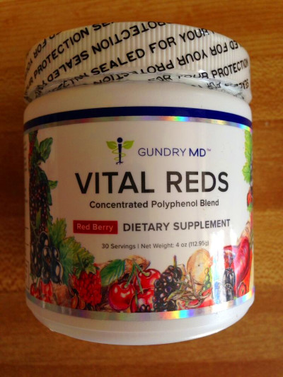 VITAL REDS,Gundry MD Concentrated Polyphenol METABOLIC ...