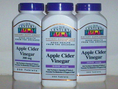 APPLE CIDER CIDAR VINEGAR 300MG BODY TOXIN CLEANSE METABOLISM 750 TABS ...