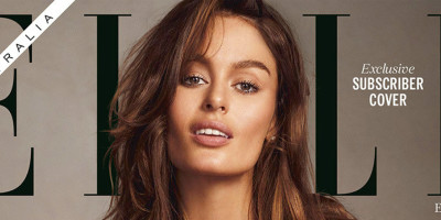 Will Nicole Trunfio Breastfeeding Son On Front Cover Of Elle Australia ...