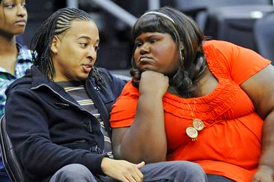 Could this be Gabby Sidibe's boyfriend?