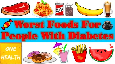 Worst Food For Diabetes Patient | Foodstutorial.org