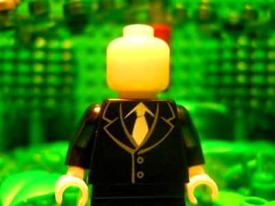 Lego Slender Man | DIY Reviews!