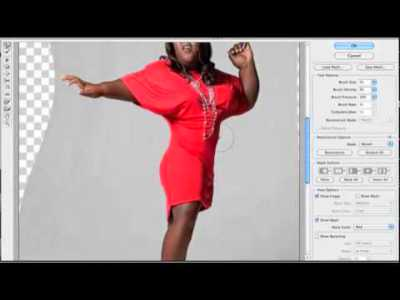 Photoshopping Gabourey Sidibe (Precious) skinny - YouTube