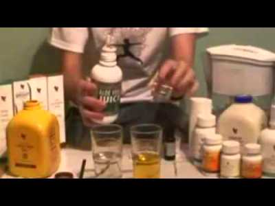 Aloe Vera Gel Test (Forever Living Products India) - YouTube