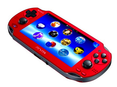 Cosmic Red PS Vita - PlayStation Vita Red and Blue - Digital Spy