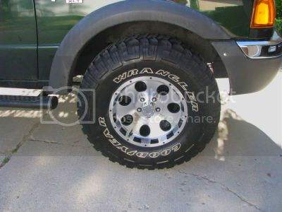Need help deciding on wheels/tire sizes - Ford Ranger Forum