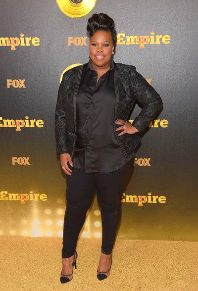 And actress/singer Amber Riley rocked a masculine chic look that we're ...