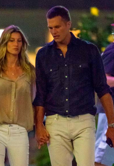 Tom Brady and Gisele look tense on date night amid rumours their six ...