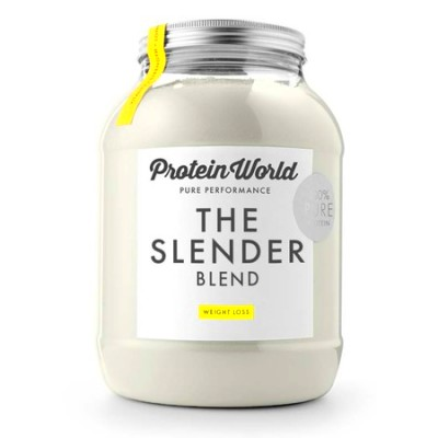 slender blend - protein world - vanilla protein powder - protein ...
