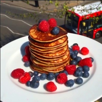 Protein pancakes recipe leanin15 the body coach Joe Wicks