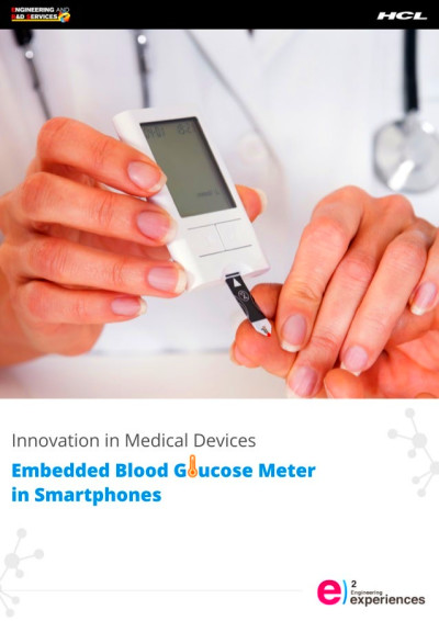 ... in Medical Devices – Embedded Blood Glucose Meter in Smartphones