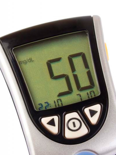 those with hypoglycemia have a blood sugar level that is below 70