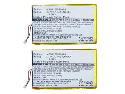 2PC eBook Reader Battery for Ectaco jetBook e-Book Reader fit CS ...