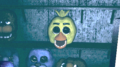 Five Nights at Freddy's Game over screen