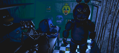 Five Nights at Freddy's out abck