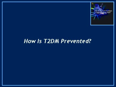 Diagnosis, Prevention, and Early Treatment of Diabetes ...