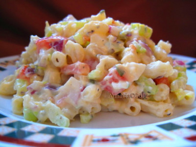 Low-Carb Low-Calorie Macaroni Salad Recipe - Food.com