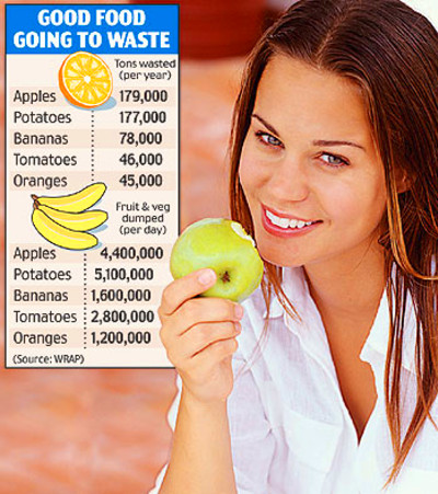 £3bn of food thrown away and wasted in a year | This is Money