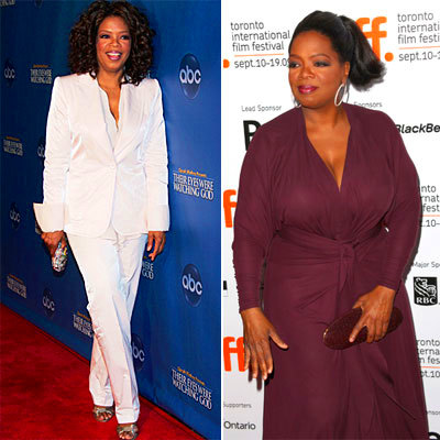 Oprah Winfrey - 25 Shocking Celebrity Weight Changes - Health.com