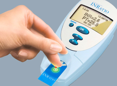 What is a PT/INR reading on an Alere INRatio monitor? - Alere INRatio ...
