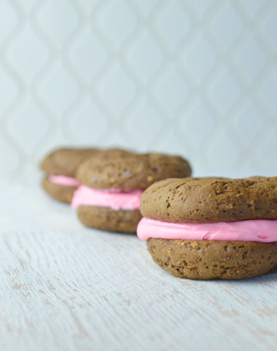 Whoopie Pie Recipe with Homemade Frosting
