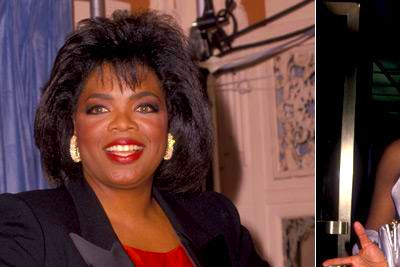 Oprah Winfrey too is quite experienced with experimenting her looks.