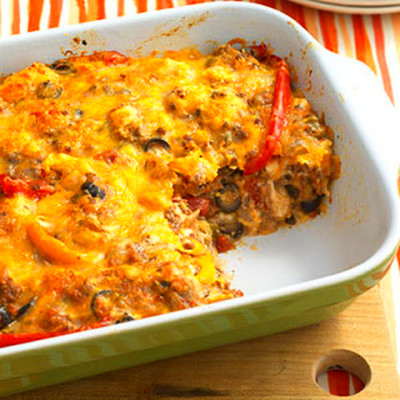 Beef Nacho Casserole Recipes | Yummly