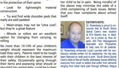 """At Your Core: Taking The """"Load"""" Off Your Child's Back - August 2014 ..."""