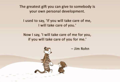 The greatest gift you can give someone is your own personal ...