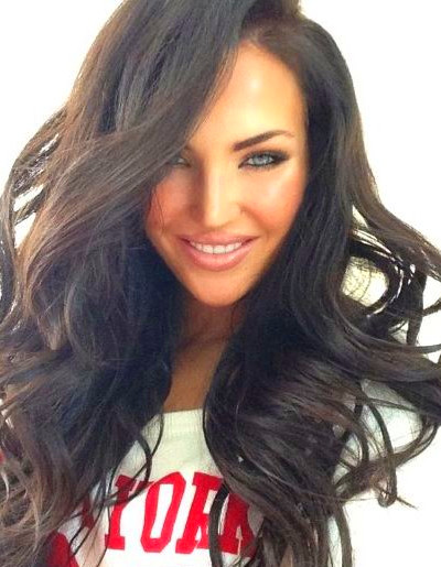 Woman of the day: Natalie Halcro | Hair - Long/Medium #3 | Pinterest