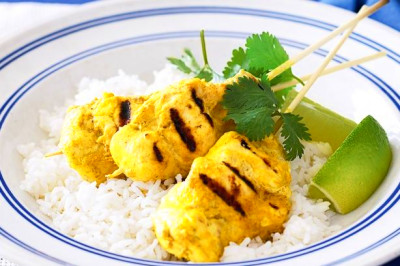spicy youghurt chicken skewers - Take the stress out of weekdays with ...
