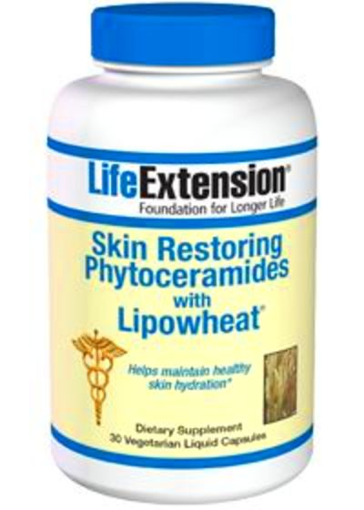 Skin Restoring Phytoceramides With Lipowheat by Life Extension - Buy ...