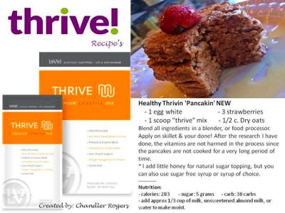 Thrive pancakes | Yummyyy!!! | Pinterest