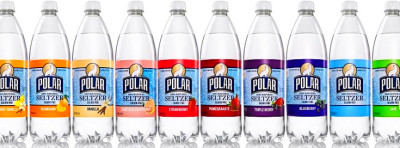 Polar Seltzer water, gives me my soda and juice fix!