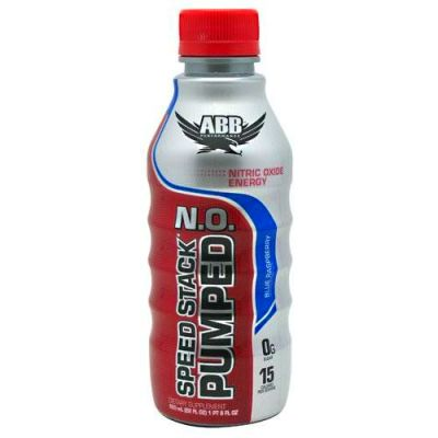 ABB Performance Speed Stack Pumped N.O. Nutrition Beverage, Blue ...