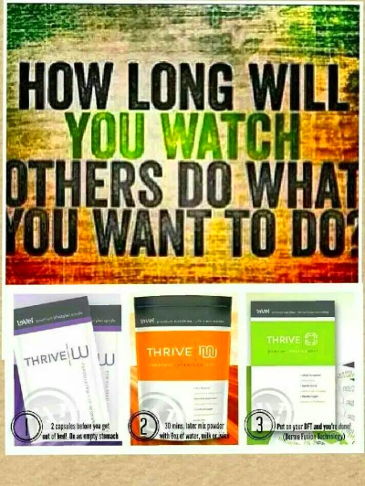 Plexus and level thrive – wahm forums – wahm.com, Thrive is 100% ...