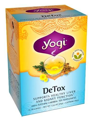 want a Yogi DeTox Tea, 16 Tea Bags (Pack of 6) / http://www ...
