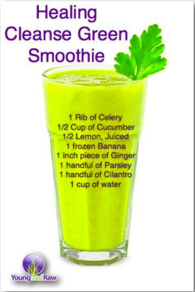 Green Smoothie Cleanse On Pinterest Green Smoothie ...