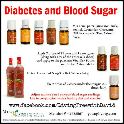 Diabetes and young living essential oils, low carb flour ...