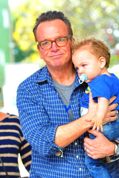 Tom Arnold & His Birthday Boy | Celebrity Babies | Pinterest