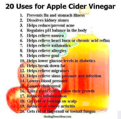 Apple cider vinegar uses | Good to Know | Pinterest