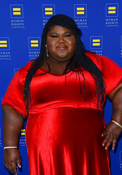 Gabourey Sidibe arrives for the Human Rights Campaign 2016 Los Angeles ...